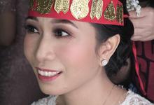 Batak Bride Ms. Miranti by MRS Makeup & Bridal