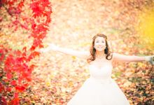 [TOKYO] Autumn Maple Tree Season by The Wedding & Co
