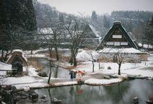 Winter photography at Shirakawa-go by La-vie Photography
