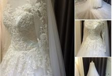 Custom Made Gown for middle east by Blessed Brides