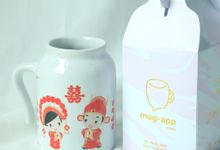 NEW ITEM MUG GUCI by Mug-App Wedding Souvenir