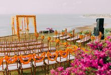 Wedding at Bayuh Sabbah Villas by d'Oasis Florist & Decoration