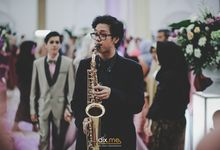 the Wedding of Debri & Arul by Dix Music Entertainment