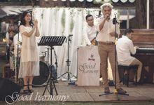 Nana & Fariz Wedding Reception by Good Harmony
