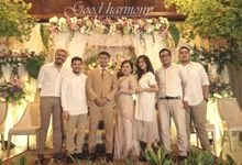 Nana & Fariz Wedding Reception by Good Harmony