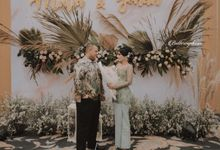 Mutia Johan Engagement by Buttercup Decoration