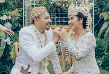 Garden Wedding Party Mima & Ony by Mutiara Garuda Catering