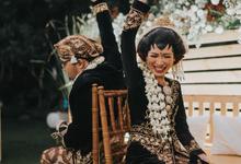 Javanese Garden Wedding Katie & Indra by Mutiara Garuda Catering