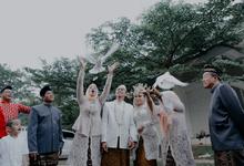Dena & Imam Green Andara by Mutiara Garuda Catering