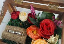 Multi View Box - Politur Coklat | Wedding Ring Bearer Box Indonesia - Celemor by Celemor