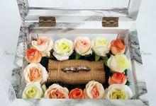 Multi View Box - Marble | Wedding Ring Bearer Box Indonesia - Celemor by Celemor