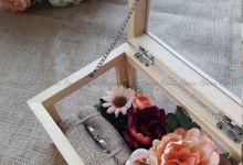 Multi View Box - Natural | Wedding Ring Bearer Box Indonesia - Celemor by Celemor