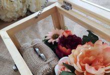 Multi View Box - Natural | Wedding Ring Bearer Box Indonesia - Celemor by Celemor