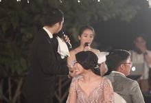 Wedding Reception of Vincent & Bella by DJ Perpi