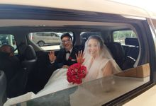 Ivan & Cindy Wedding by sapphire wedding car