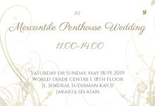 Open House & Food Tasting by MERCANTILE PENTHOUSE WEDDING