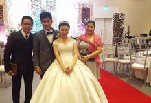Wedding of Ygi and Jomz Ojano by Good Vibes MC Bert