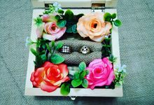 Custom Wooden Ring Box by SG Craft