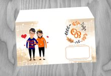 Invitation Wowok And Olive by pensilwarna media