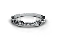 Tied Wedding Ring by Reine