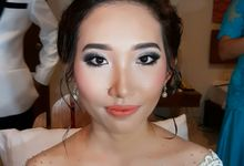 Wedding Reception -Ms Dewi by Marina Liem Make-up artist