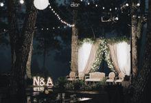 A Forest Wedding of Nasha & Agi by Elior Design