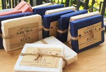 Wedding Favor of Nandra & Alex by The Soap Project Indonesia