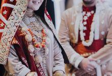Pernikahan Nada & Fauzan Di Menara 165 by Medina Catering