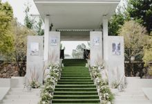The Wedding Of Nadia and Friza by Elior Design