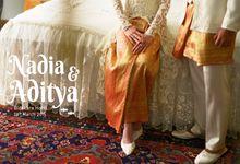 Nadia  & Aditya  | Wedding by Kotak Imaji
