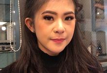 Pre-Wedding Make Up for Cindy by Nadia Ingridha Make Up