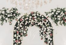 The Wedding of Nadia and Irham by Elior Design