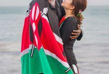 Kenyan-Singaporean Pre-Wedding Shoot at Sentosa Cove by GrizzyPix Photography