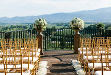 Luxury Wine Country Wedding by Tamara J Events