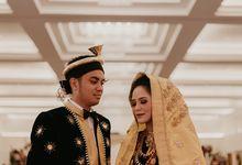 Nasya & Agyl Wedding Photo at Menara Mandiri by AKSA Creative