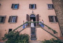 Tuscan villa wedding  by Italian weddings by Natalia