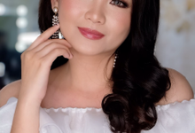 Wedding Makeup Ms Stefany by Nataliang MUA and Academy