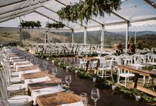 Clear marquees by Maleny Retreat Weddings