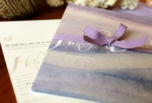 Natalie & David - wedding by the sea by A little love story limited