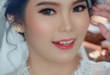 Bridal Makeup for our Beautiful Bride  by Natcha Makeup Studio