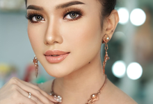Thai Makeup Look  Flawless elegant Wedding Makeup  by Natcha Makeup Studio