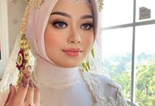 Hijab Wedding Makeup (Thai Makeup Look) Pengantin  by Natcha Makeup Studio
