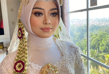 Hijab Wedding Makeup (Thai Makeup Look) Pengantin  by Natcha Makeup Studio