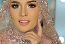 Hijab Bridal Makeup  by Natcha Makeup Studio