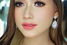 Makeup bridal look by Natcha Makeup Studio