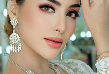 Bridal Makeup Look  by Natcha Makeup Studio