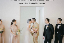 BRIDESMAID for KEVIN & JOSEPHINE  by Nathanya.cia