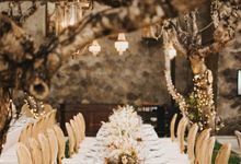 Quiet Elegance at Amanusa, Bali by Tea Rose Wedding Designer