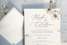 Nicko & Cecilia by Gracia The Invitation