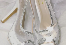 NClaire wedding heels by N'Claire